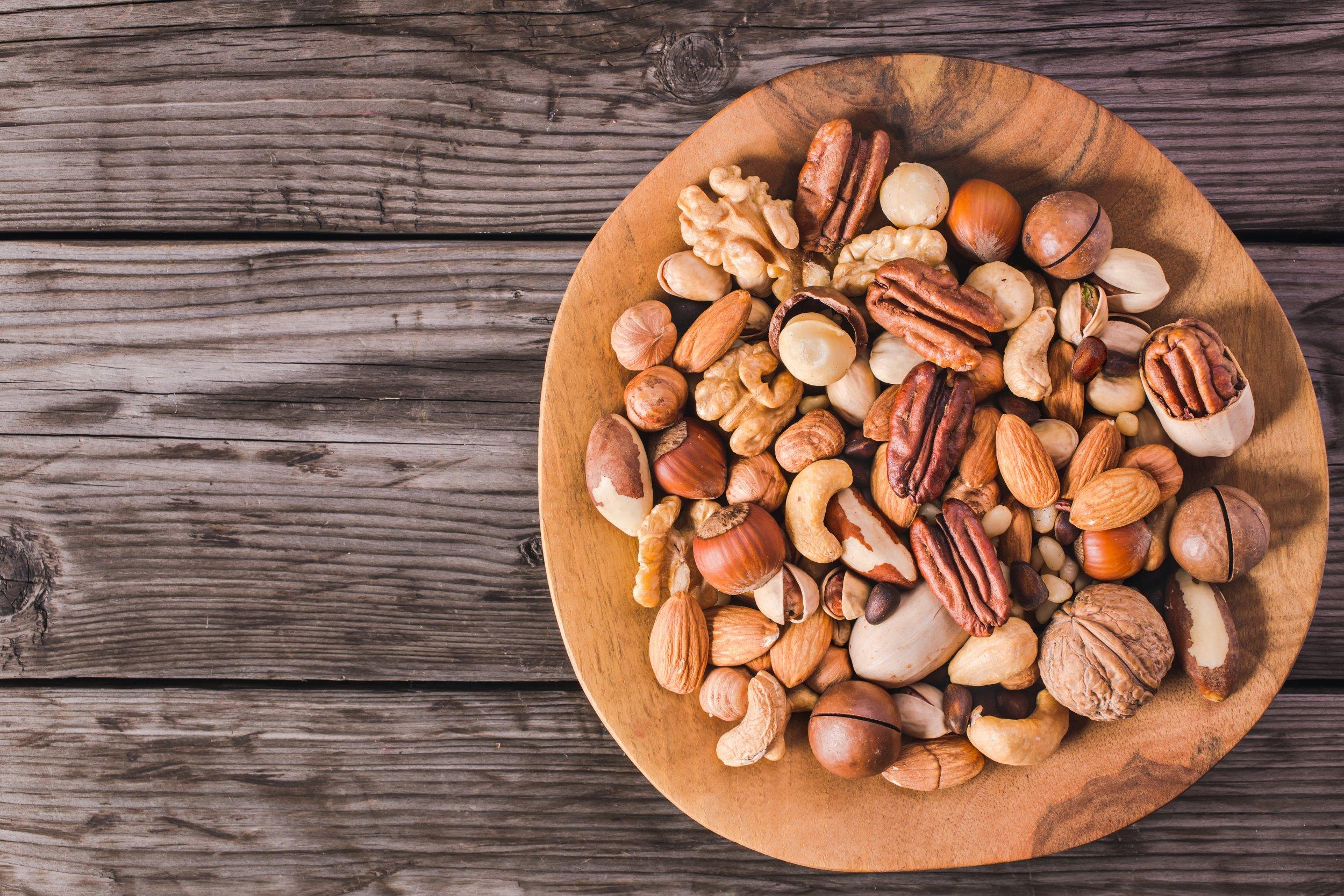 nuts, diet