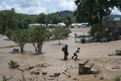 West Virginia, floods