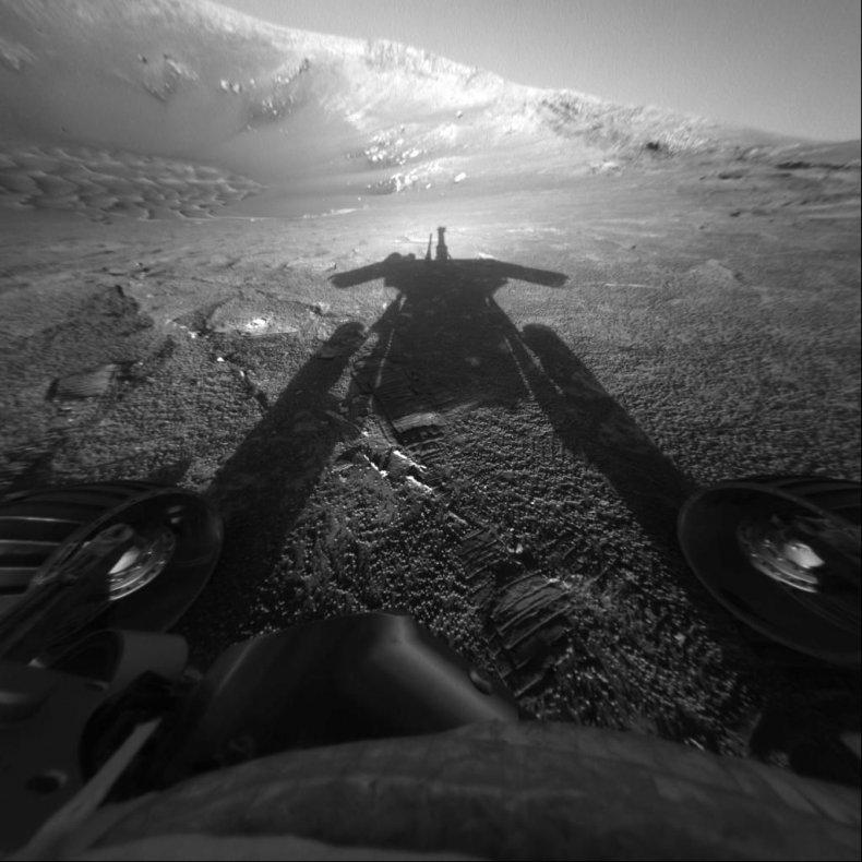 NASA, Mars, Opportunity rover