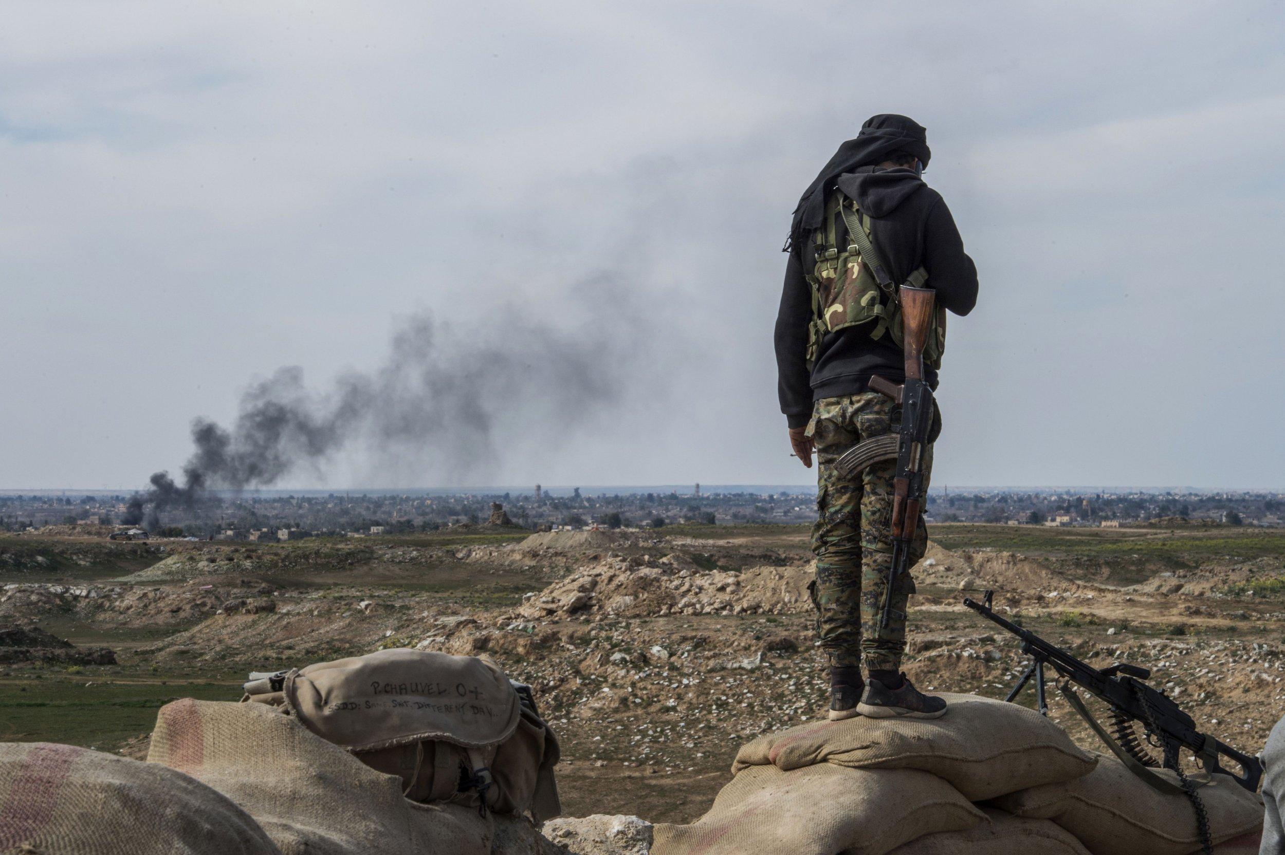 ISIS Syria evacuation Baghouz SDF