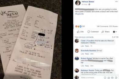 Receipt To Build The Wall