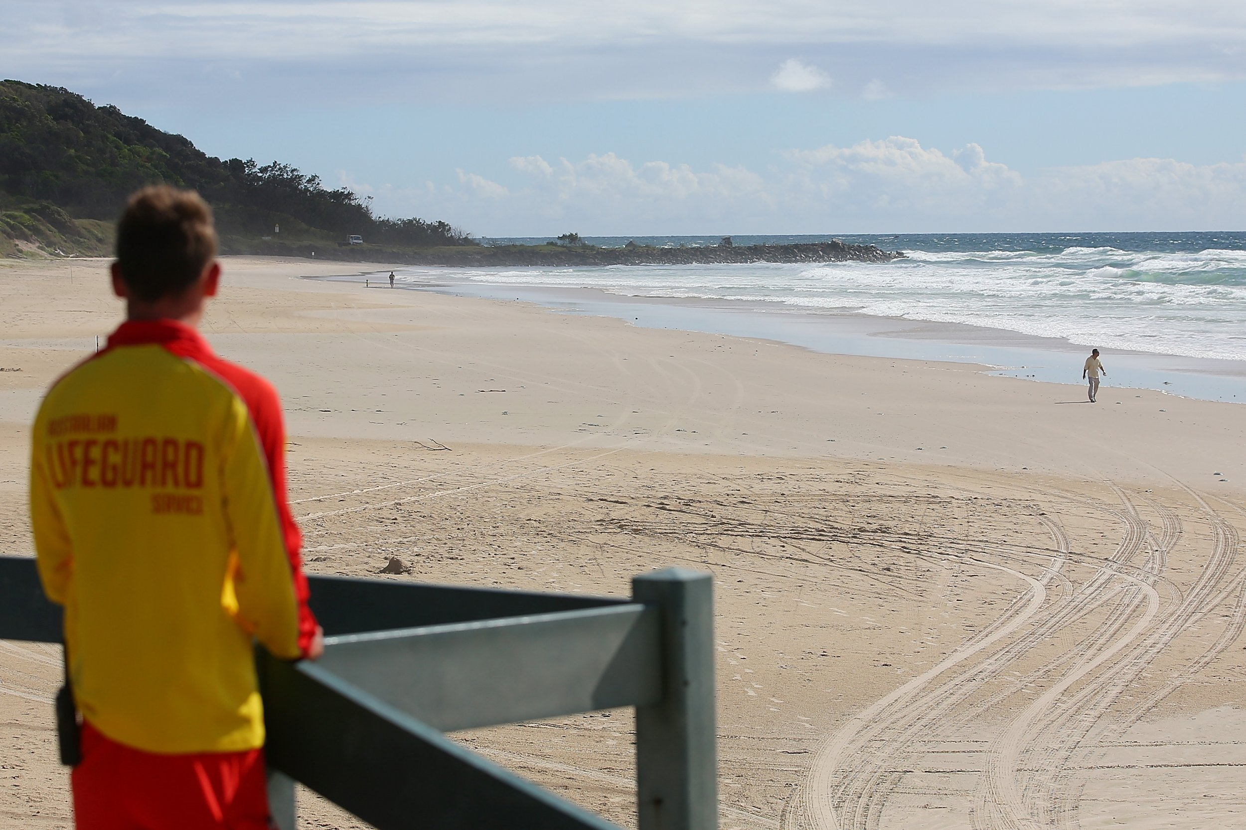 Shelly beach missing tourists