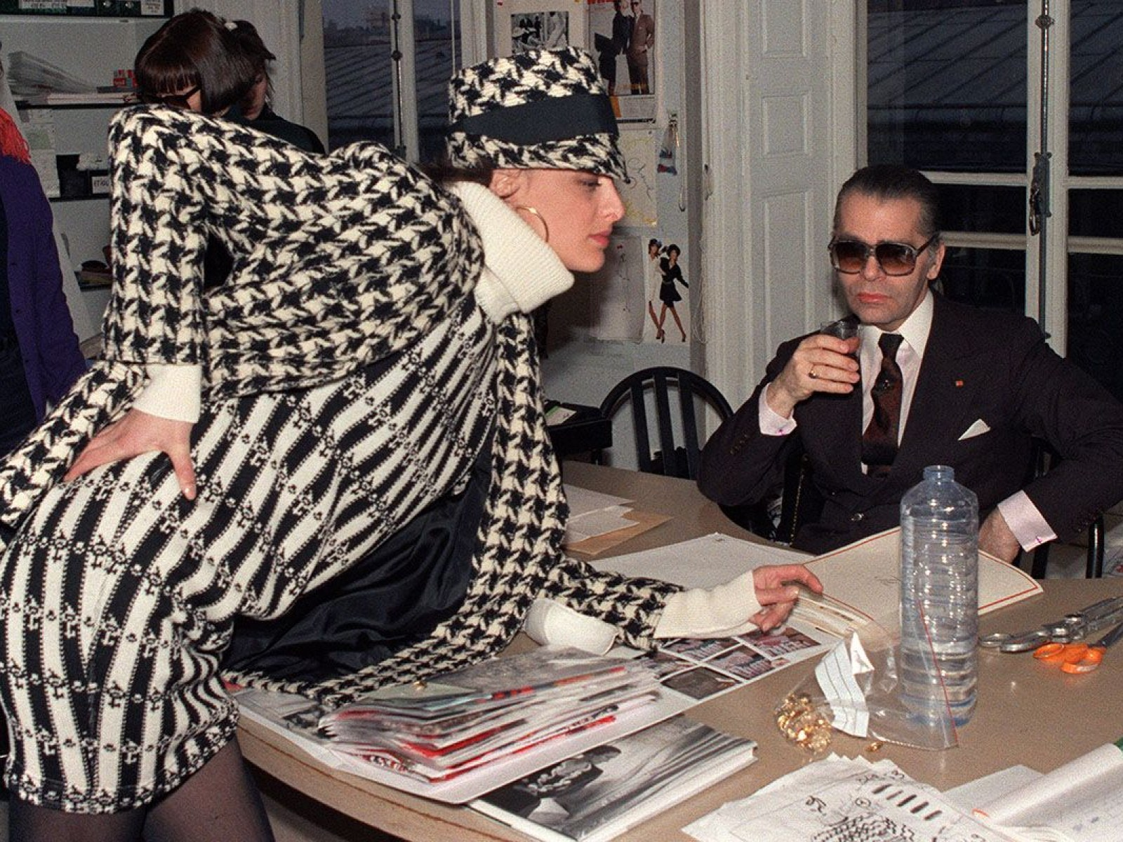 17a4586b4104 Karl Lagerfeld's Fashion Legacy: Designer's Greatest Creations in Pictures
