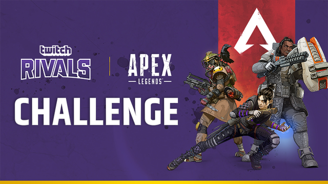 apex legends challenge twitch rivals where to watch