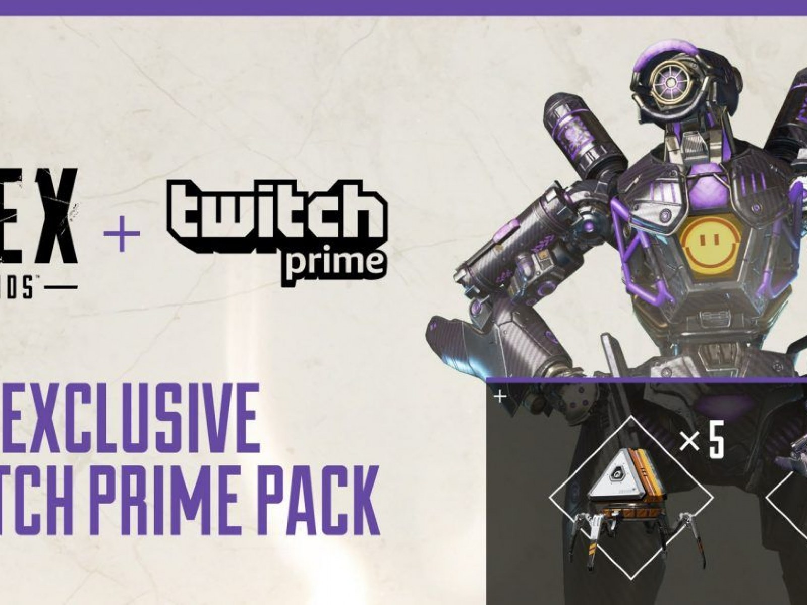 Apex Legends' Twitch Prime Bundle Leaked: Free Pathfinder Skin and