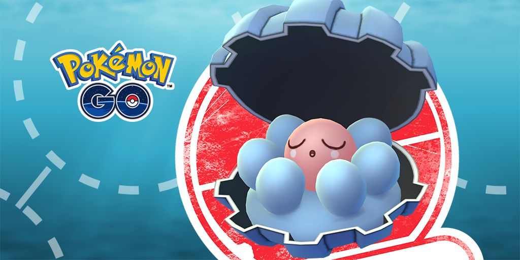 pokemon go clamperl research tasks event