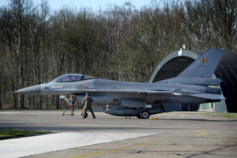 Belgium air base nuclear weapons protests