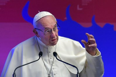 pope francis accusers linked to devil ahead of sexual abuse meeting
