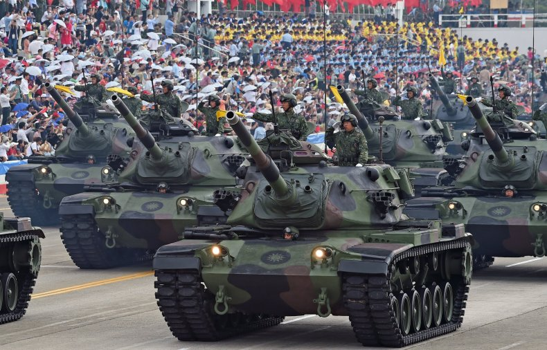 Taiwan China defense military invasion
