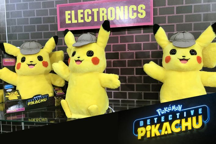 Detective Pikachu Merchandise The Highlight Of Pokémon At Toy Fair