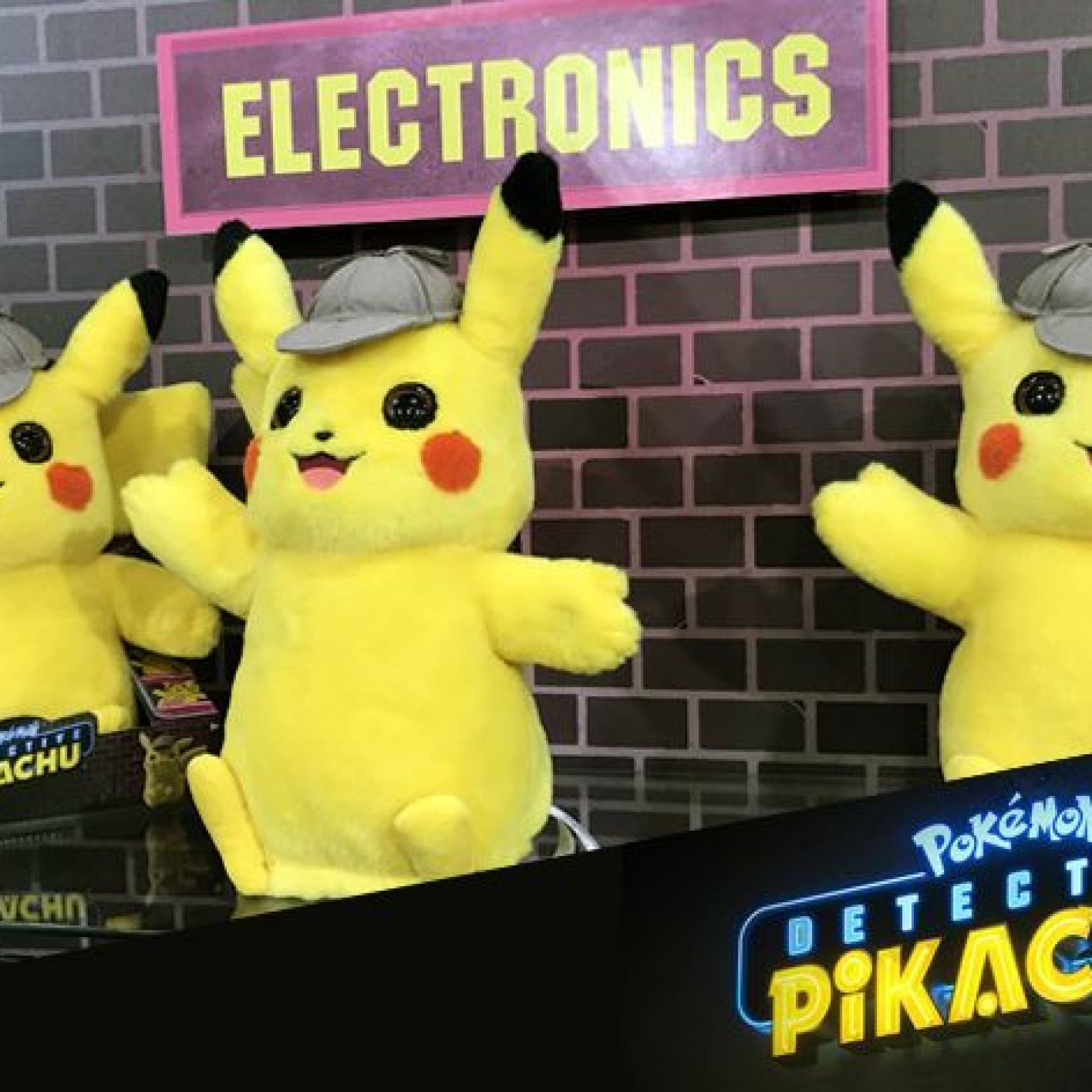 Detective Pikachu Merchandise The Highlight Of Pokemon At Toy Fair