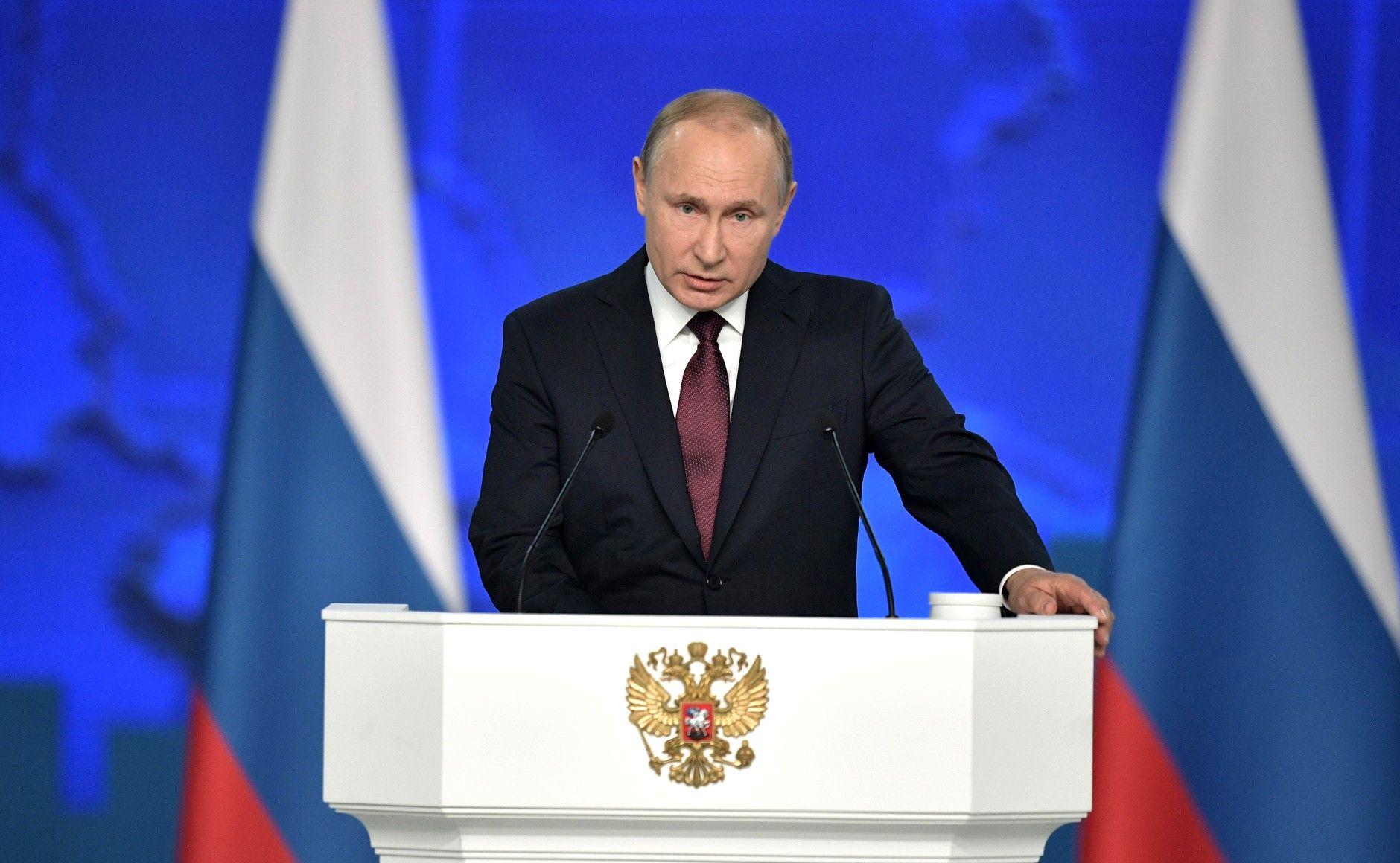 PutinStateNationAddress2019