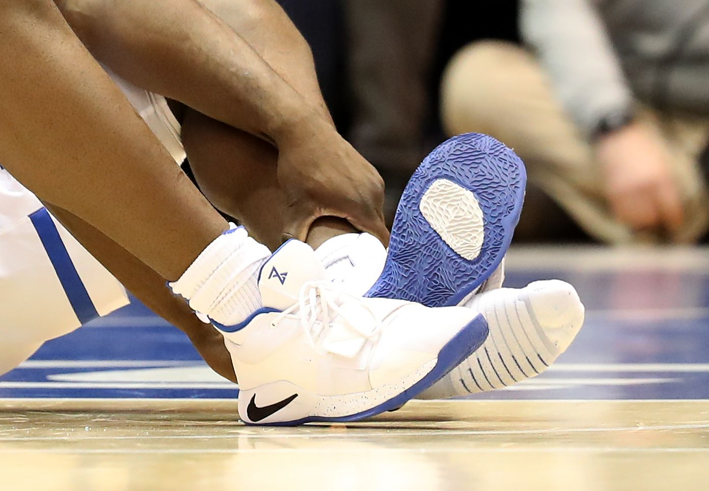 28521aa31d5 Could Zion Williamson Sue Nike after Knee Injury Caused by Sneaker Blowing  Up