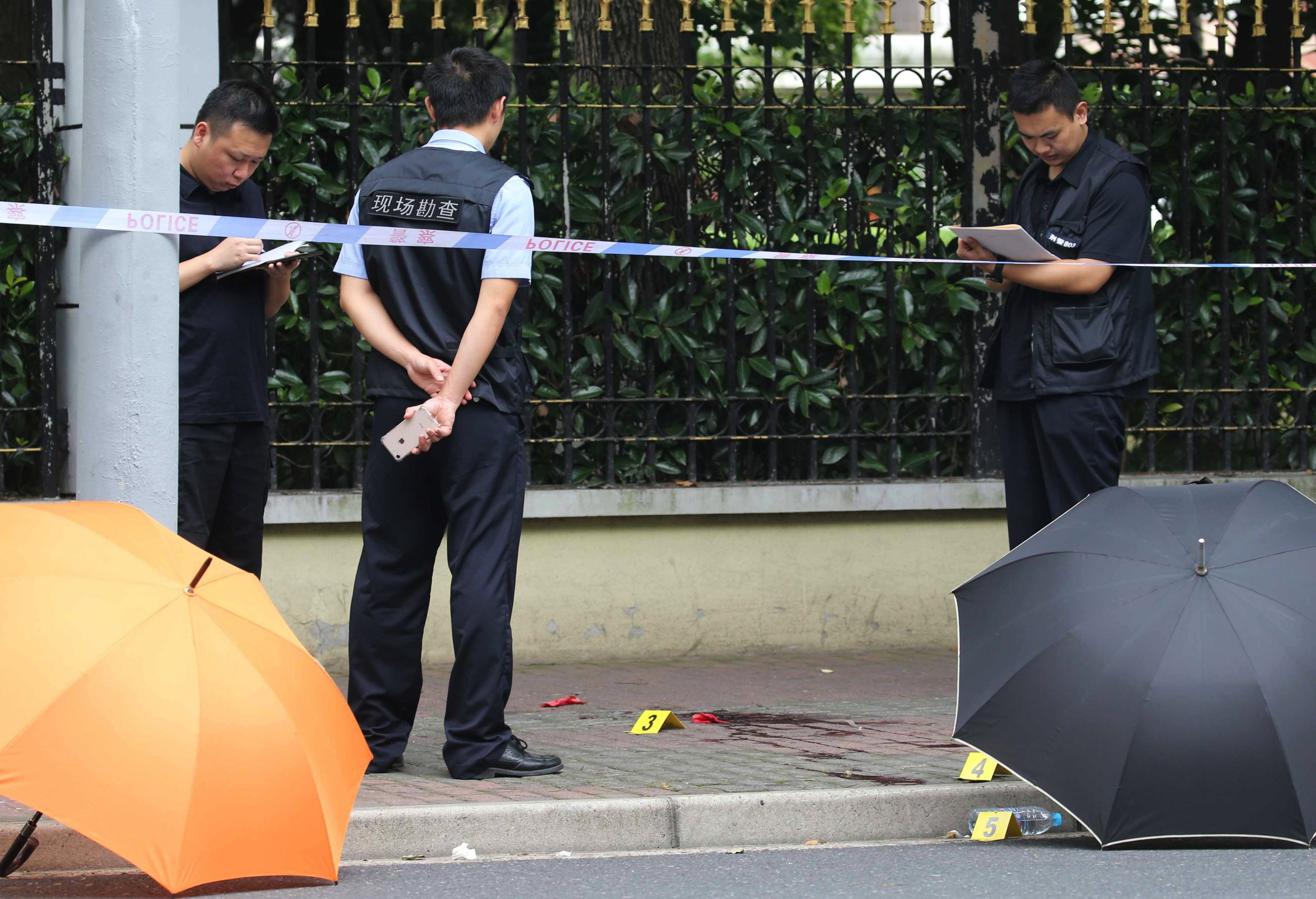 China mass stabbing knife attack