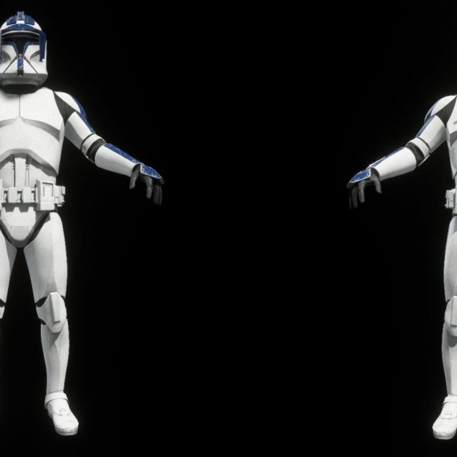 Star Wars Battlefront 2' 181st Armor Troopers & February