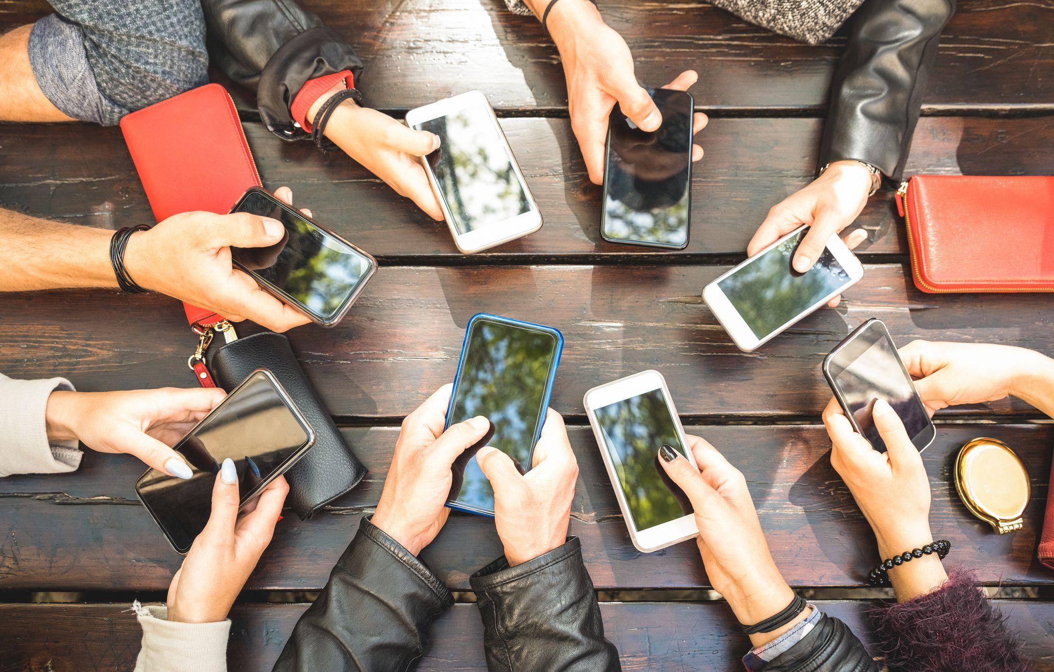 smartphones stock getty
