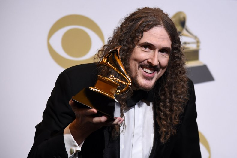 Masked, singer, peacock, weird, al, yankovic, gay, blurred, lines, inspiration, donny, osmond, partner, Neil, Patrick, Harris, albums, height, harry, Connick, jr, clues, spoilers, identity, revealed, magician, magic
