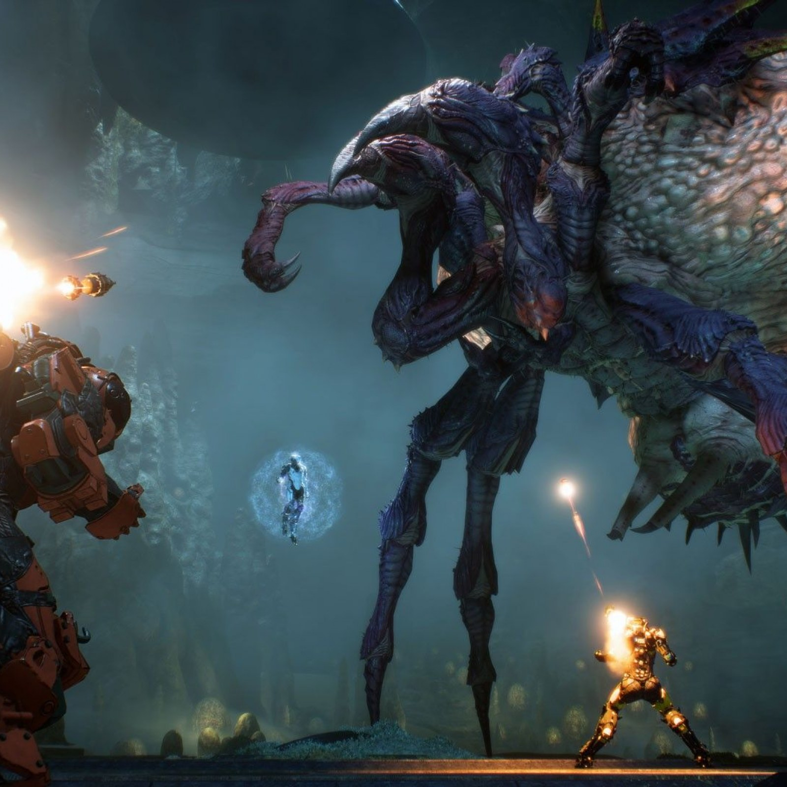 Anthem' Stronghold Bosses Drop Masterwork Weapons After