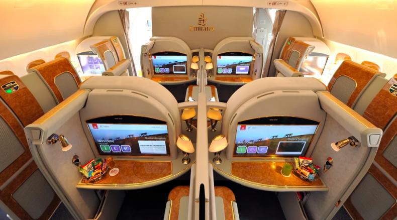 Fly First Class Cheap - Emirates First Class