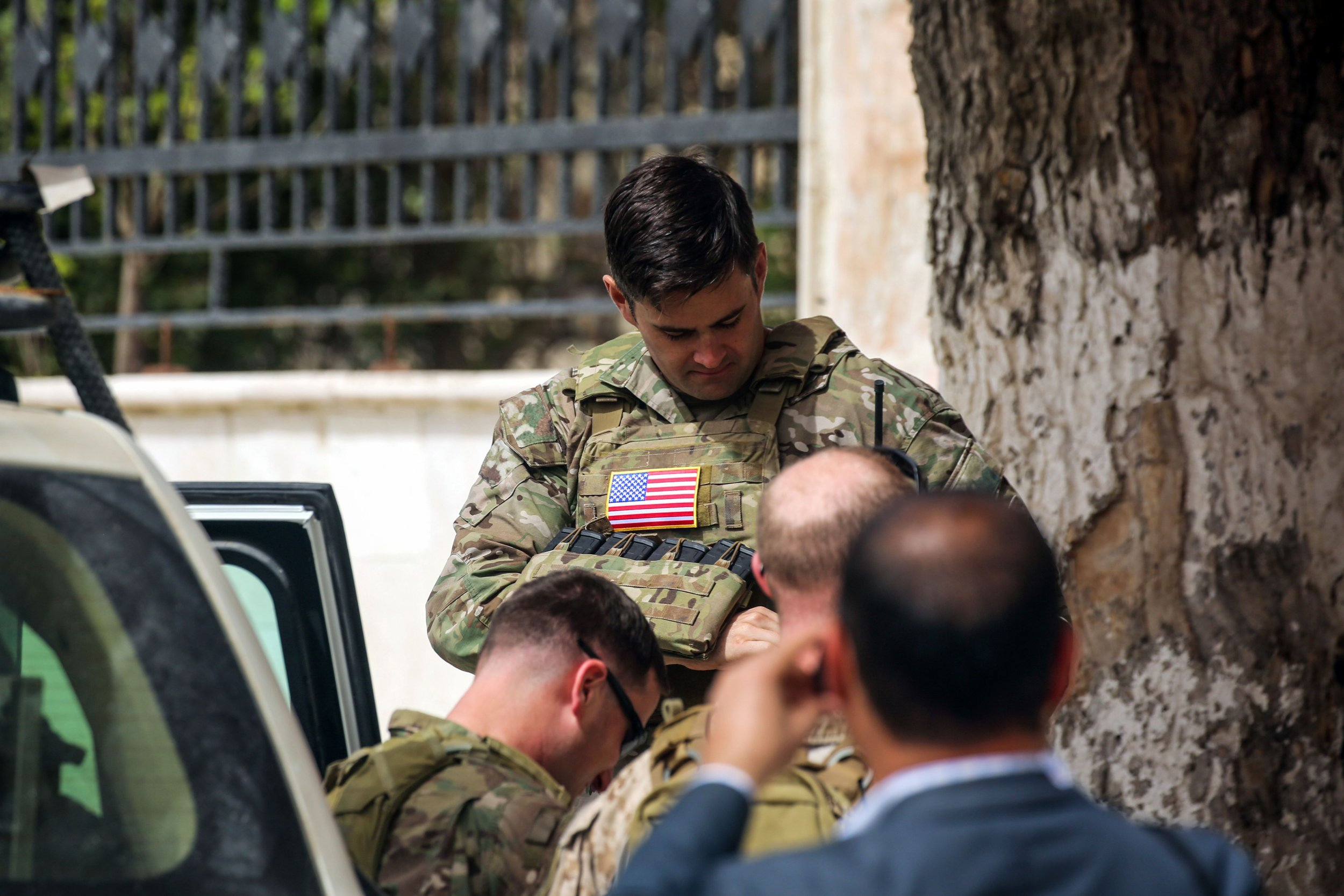 US Soldiers Syria peacekeeping