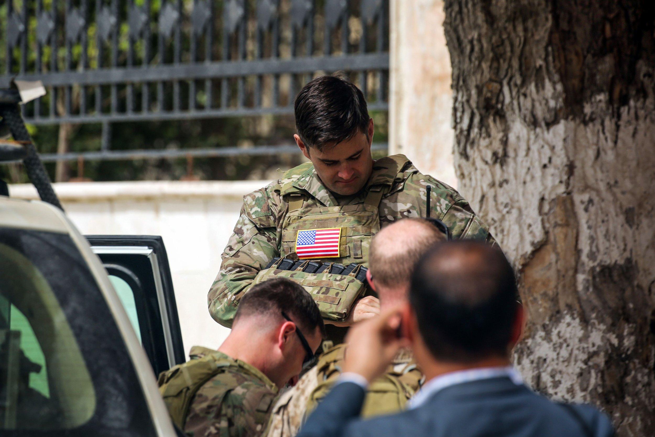 US Soldiers Syria peacekeeping