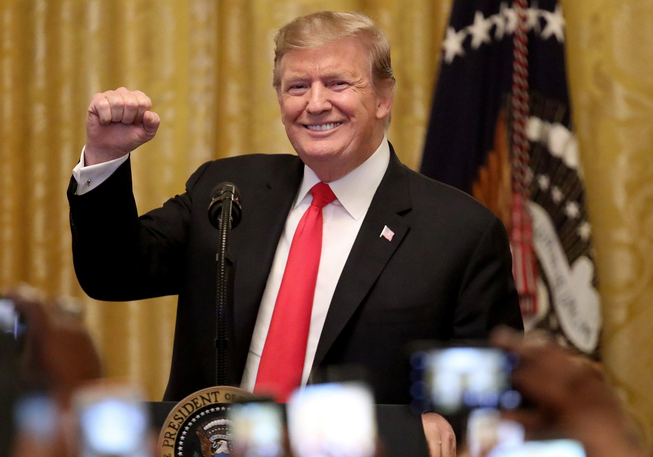 Donald Trump tax cuts bank profits