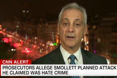 Rahm Emanuel Jussie Smollett CNN