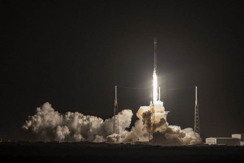 spacex Nusantara Satu Mission launch