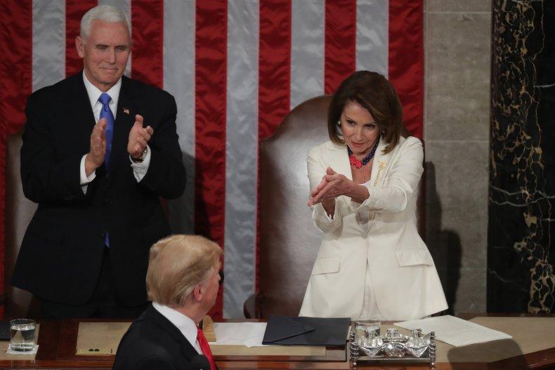 NancyPelosiDonaldTrumpMikePenceOverseas