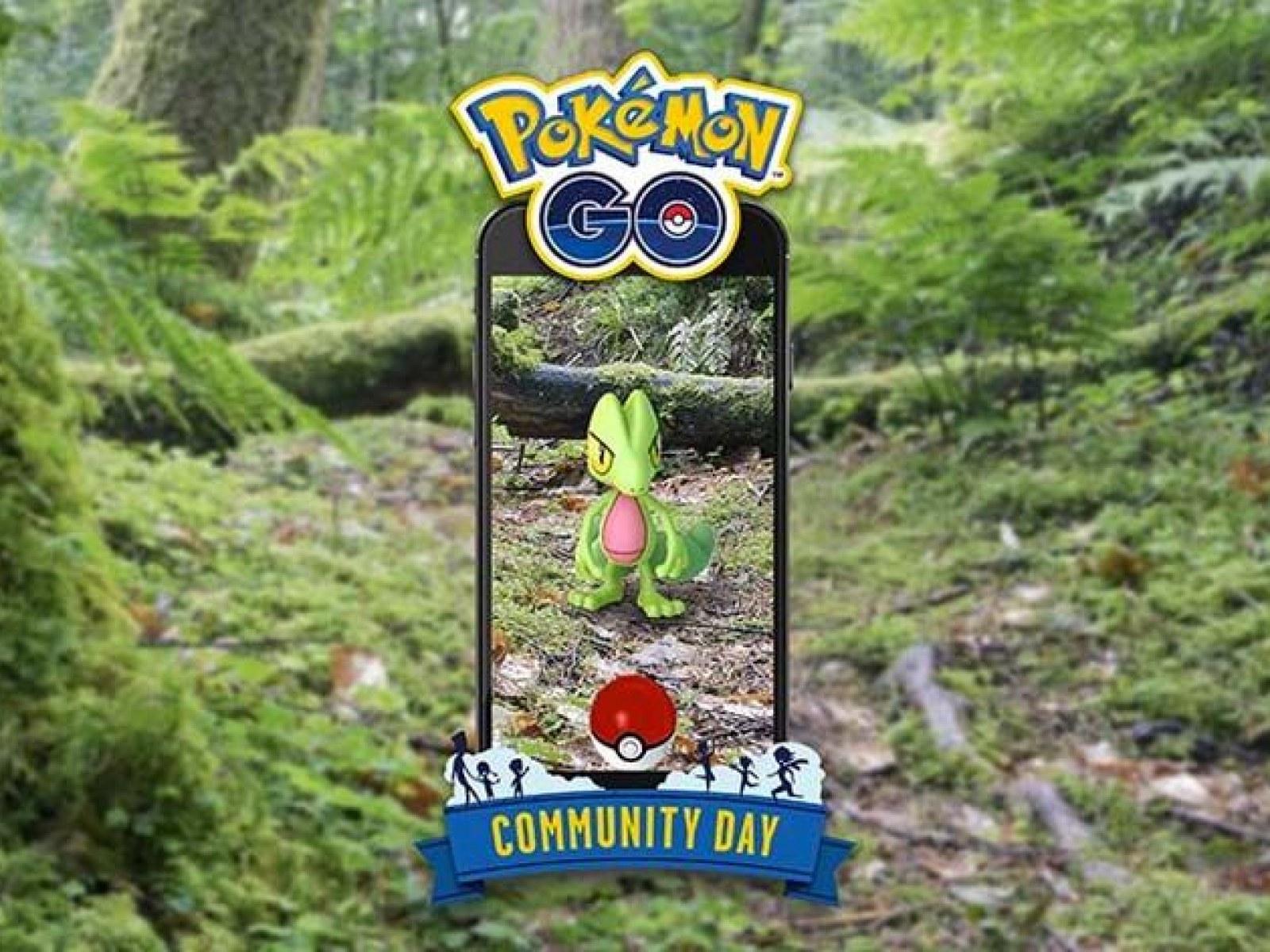 Pokémon Go' Treecko March Community Day Announced