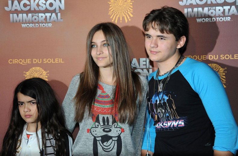 michael jackson children