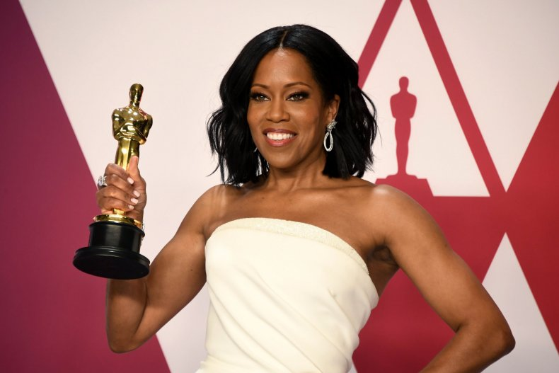 Regina King Oscars Press Room Interview