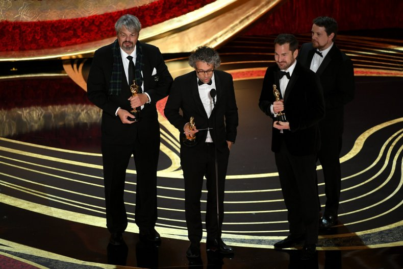 'First Man' Wins Oscar for Visual Effects