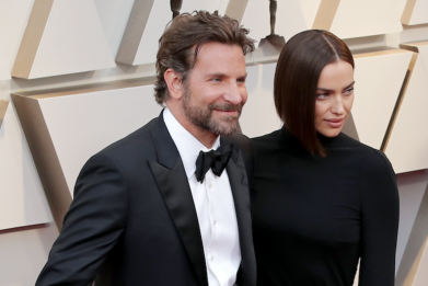 Bradley Cooper and Irina Shayk at 91st Oscars