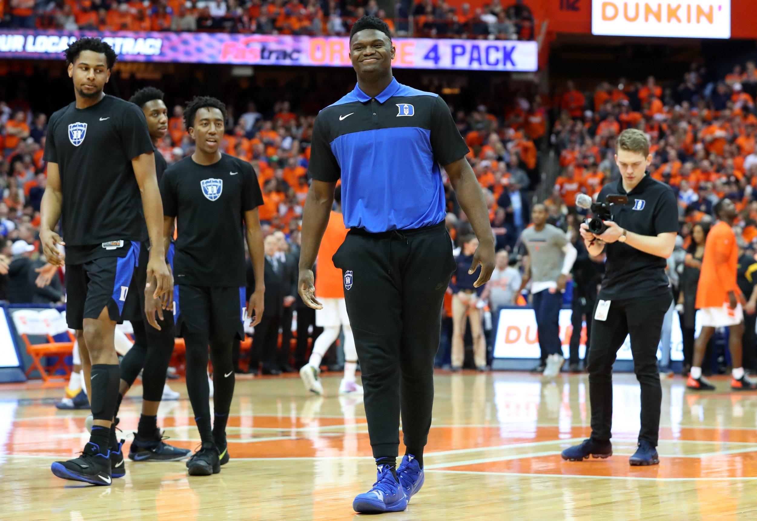 82011f12f22 Zion Williamson Injury Update  Duke Star s Status  Uncertain  Ahead of Game  Against Virginia Tech