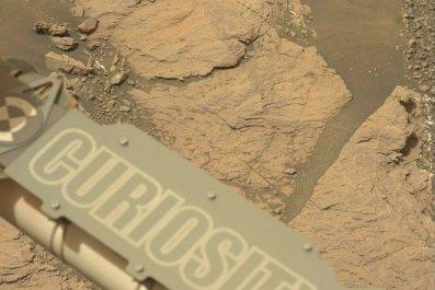Curiosity rover, Mars