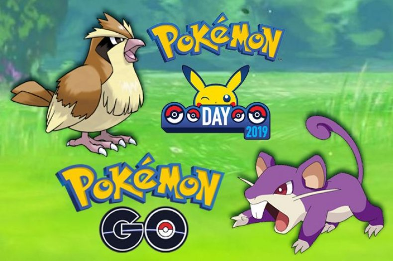 pokemon day 2019 pokemon go shiny pidgey shiny rattata event