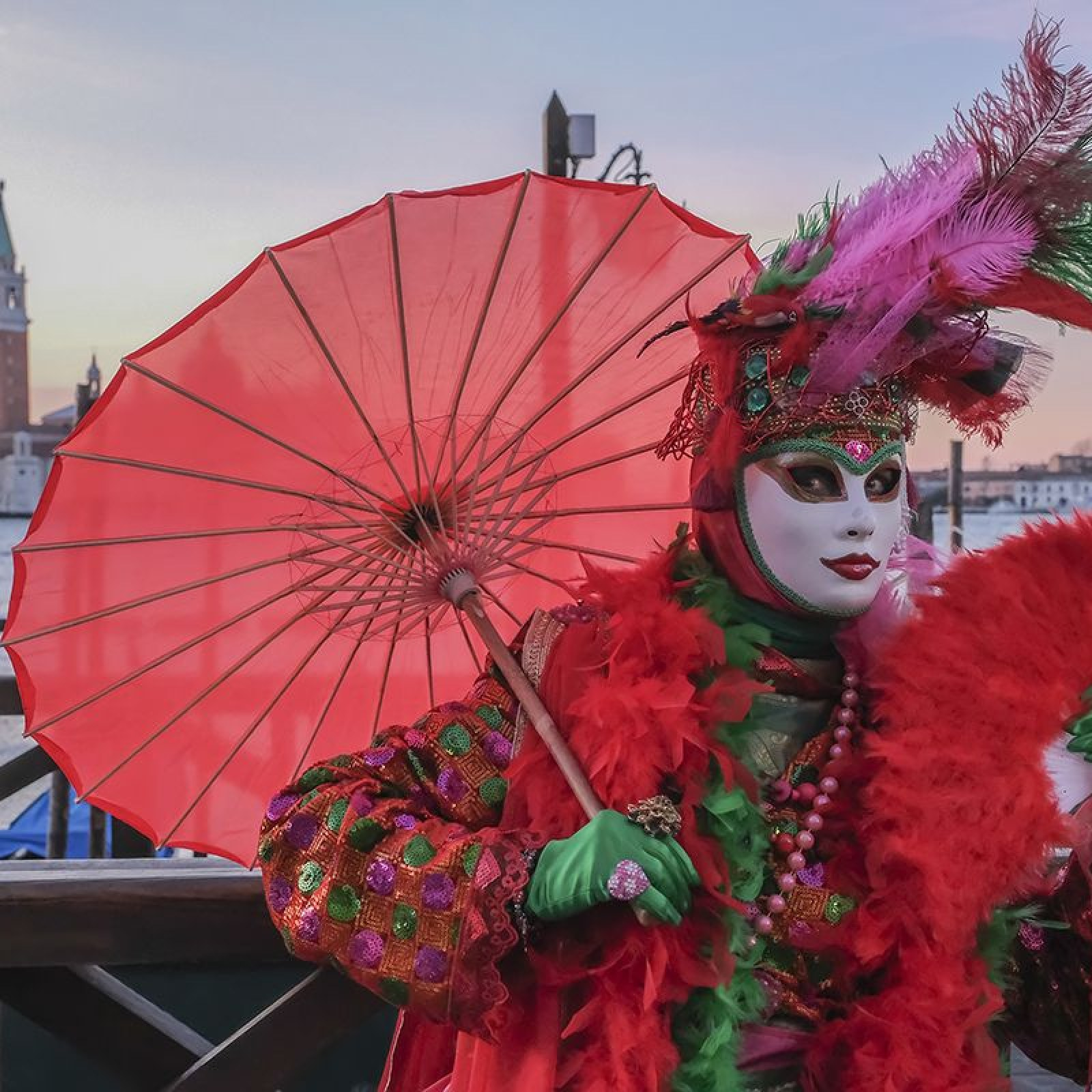 Carnival in Venice 2019: Great Photos of Masked Revelers in