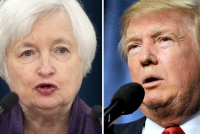 Donald Trump Janet Yellen Fed