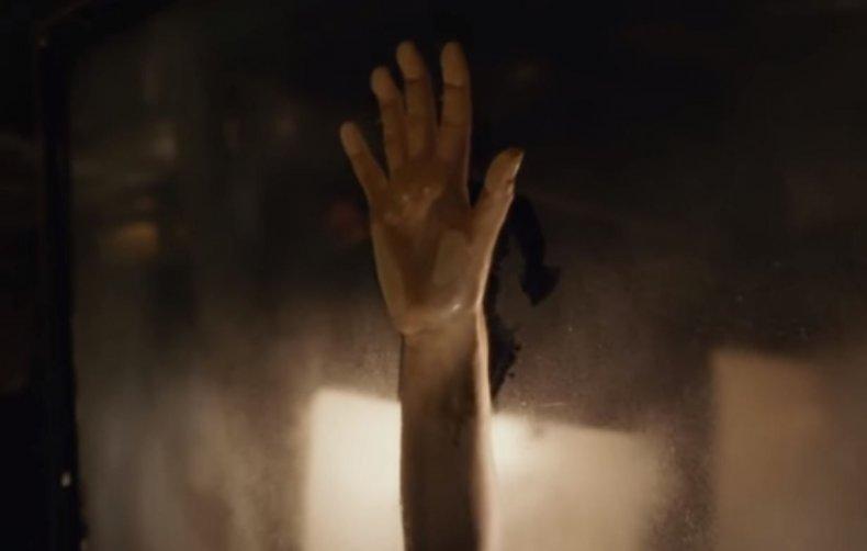 Titanic, handprint