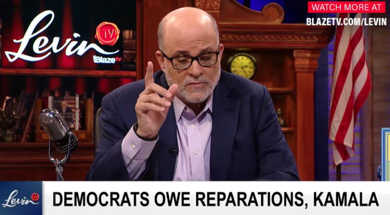 Mark Levin slavery reparations