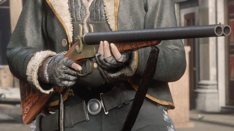 red-dead-online-update-beta-rare-shotgun