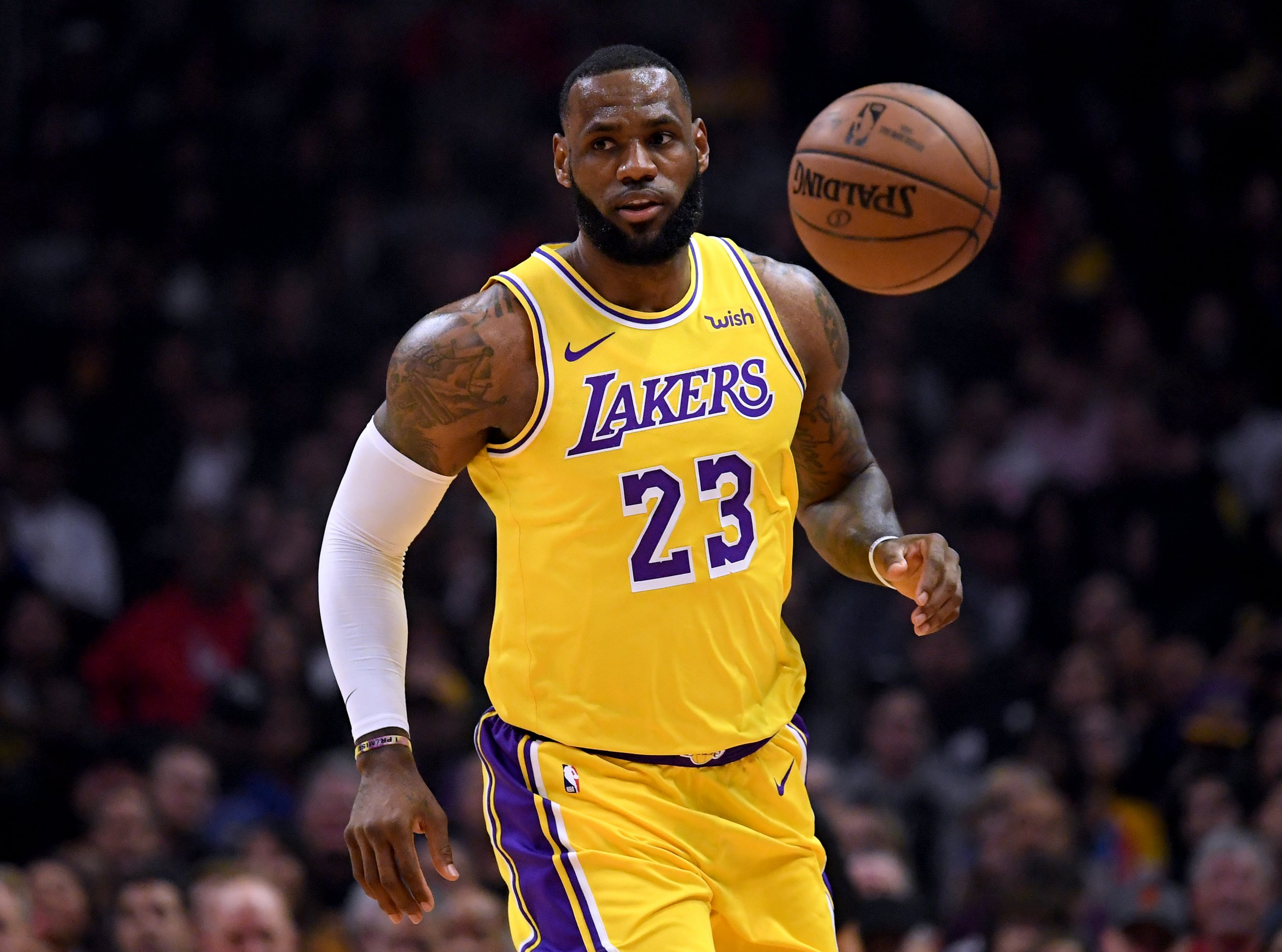 pretty nice 13df5 45a8c LeBron Is the Lakers' Biggest Problem': Stephen A. Smith ...