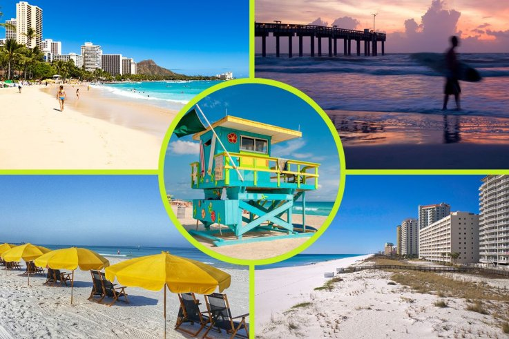Miraculous Ranked 25 Best Beaches In The U S According To Tripadvisor Download Free Architecture Designs Scobabritishbridgeorg