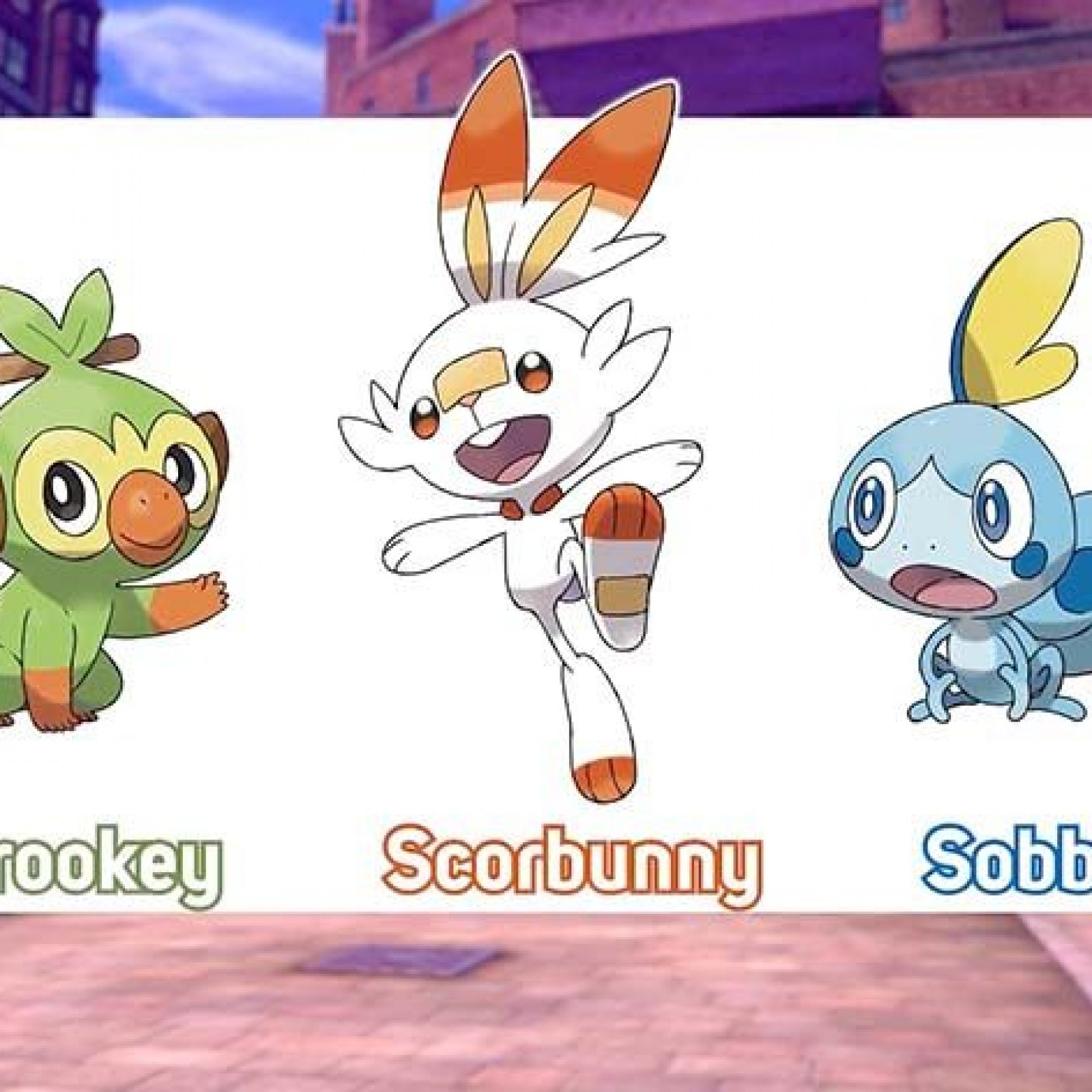 Pokemon Shield And Sword Starters Everything We Know So Far