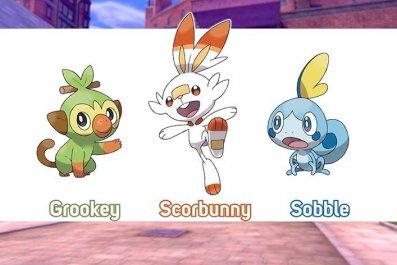 pokemon_sword_shield_starters gen 8 scorbunny sobble grookey