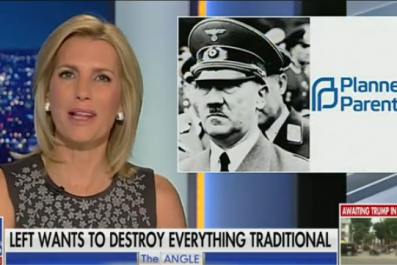 Laura Ingraham hitler planned parenthood