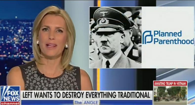 Laura Ingraham Fox News hitler
