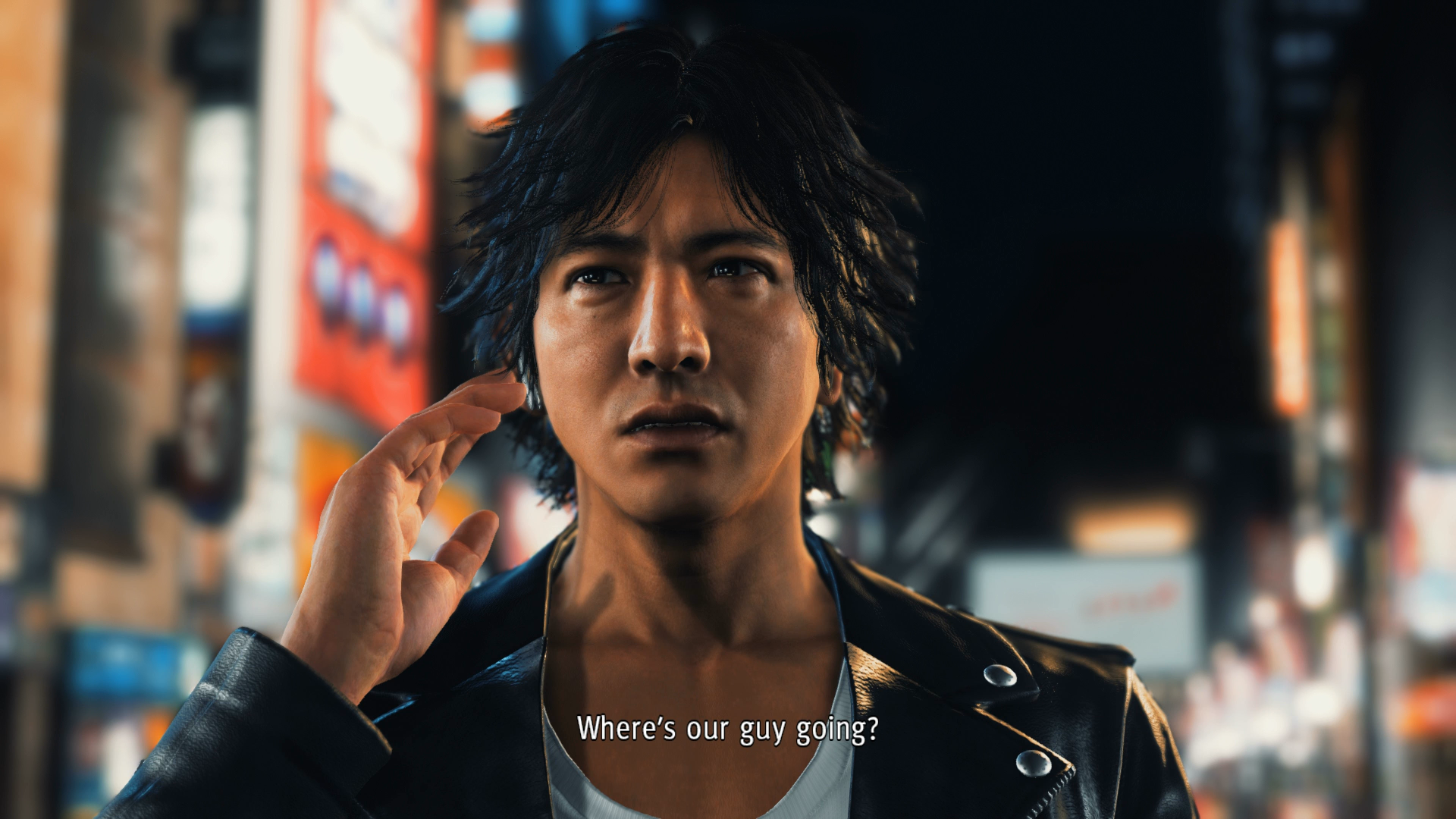 Yagami Judgment hands on impressions