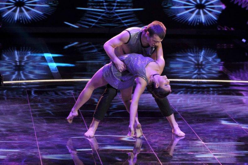 "WORLD OF DANCE -- ""Qualifiers"" Season 3, Episode 1 -- Pictured: Erica & Aidan"